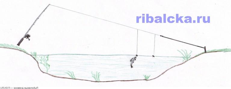 рыбалка на судака перемет