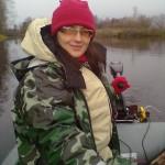 Женщина о рыбалке