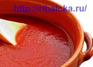 Томатный соус для рыбы