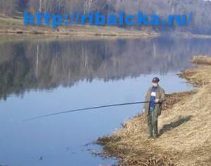 Рыбалка в апреле, ловля рыбы весной